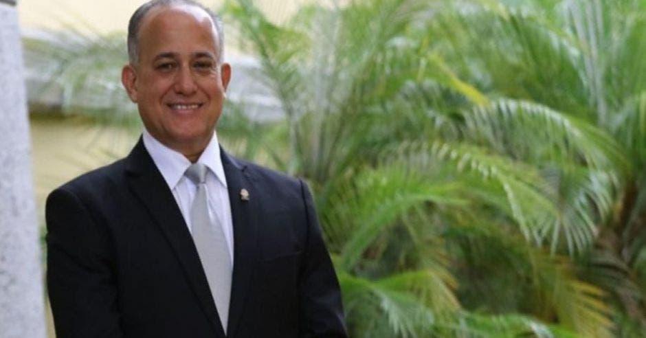 Luis Fernando Chacón, jefe del PLN.  Archivo/La República.