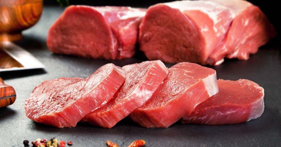 Carne sin cocinar