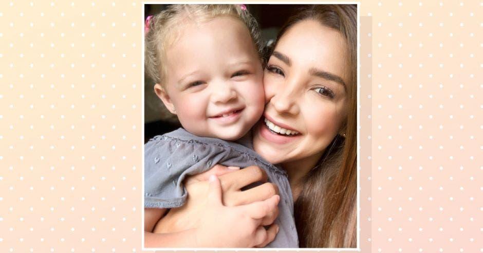 Ericka Morera y su hija Zoé