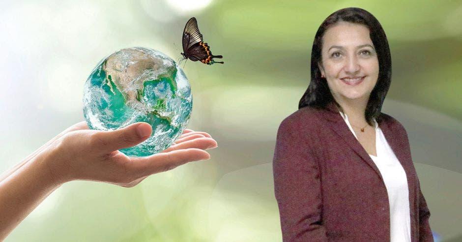 Vemos a la gerente de sostenibilidad de Coopeservidores