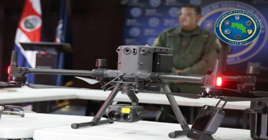 Drones que cuidan las fronteras