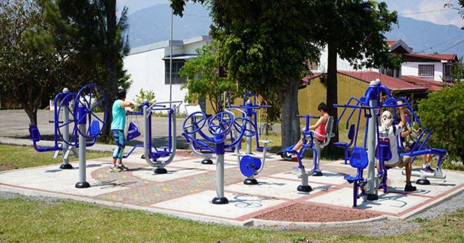 parques ejercicio