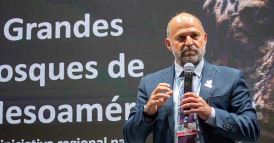 Calros Manuel Rodríguez, ministro de Ambiente. Archivo/La República.
