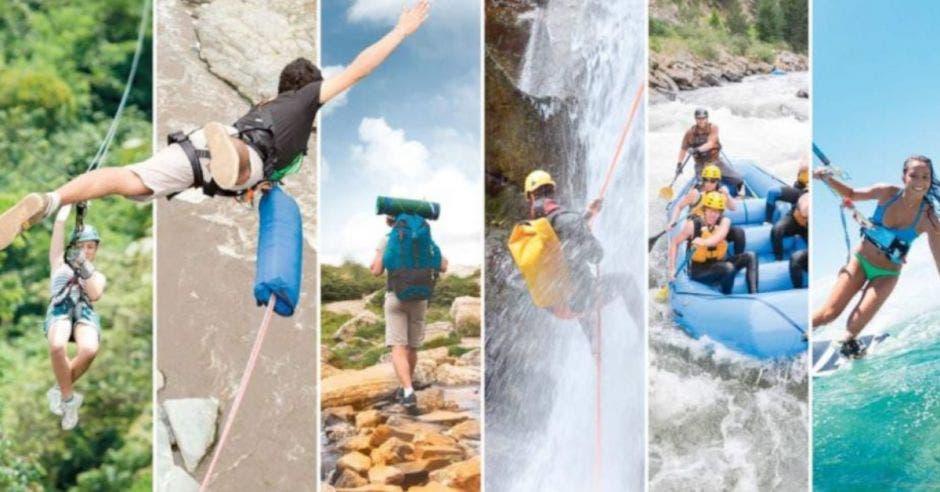 Múltiples actividades turísticas