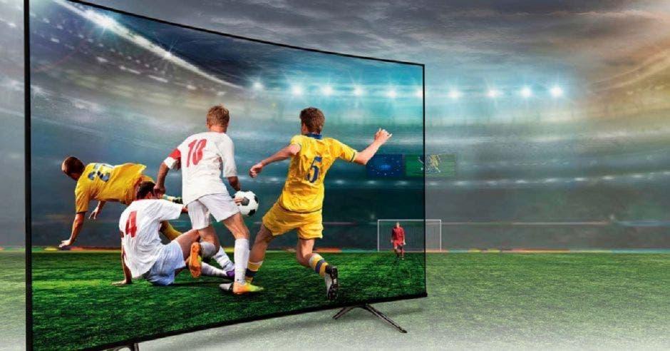 Partidos de fútbol por TV