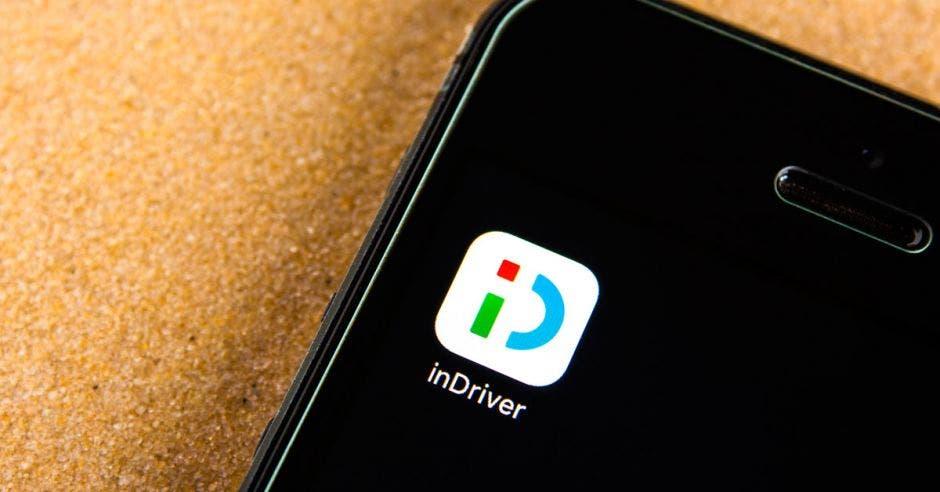 inDriver app en celular