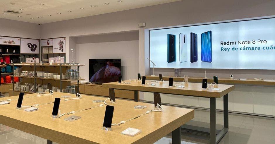 Nueva tienda Xiaomi