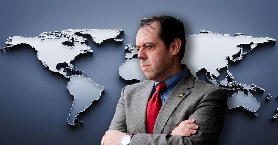 Alexander Mora, Ex-ministro de Comercio Exterior. Elaboración propia/La República.