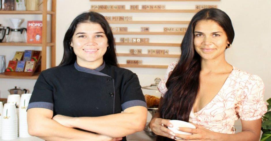 Jackie Barrera y Fernanda Molina, son las socias de Momo Café