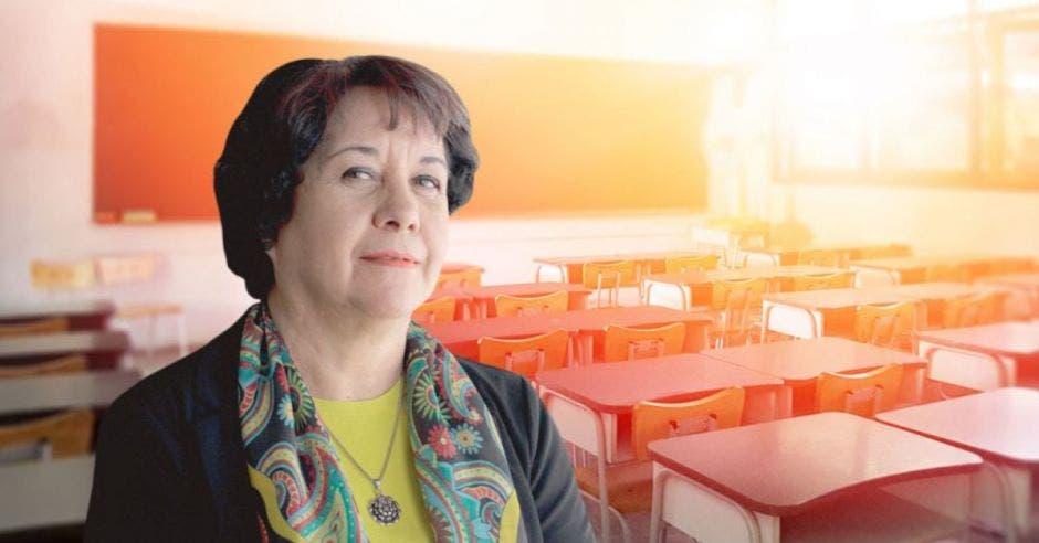Guiselle Cruz, ministra de educación