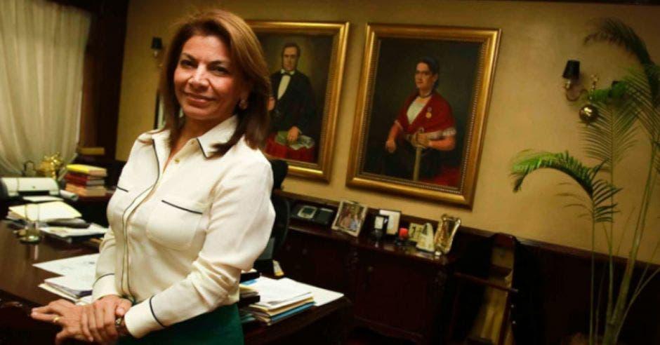 Laura Chinchilla, expresidenta de la República