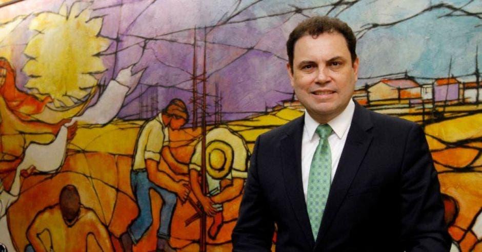 Carlos Ricardo Benavides, diputado del PLN. Archivo/La República.