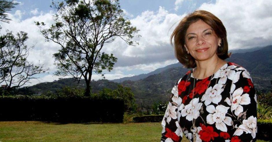 Laura Chinchilla, expresidente de la República. Archivo/La República.