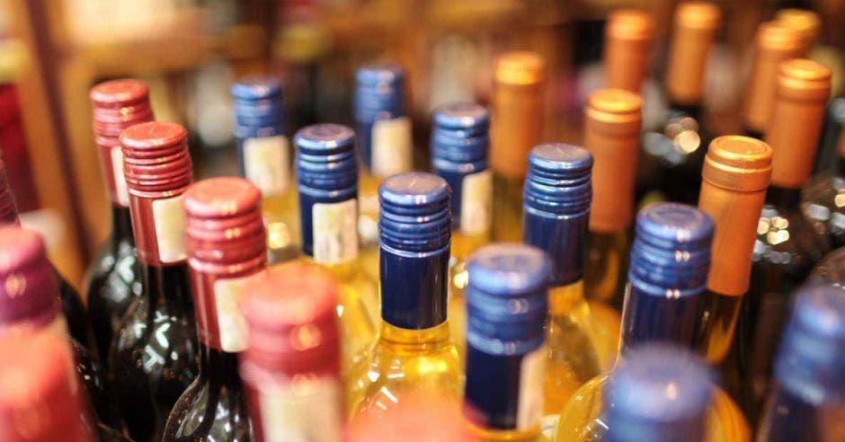 Botellas de licor