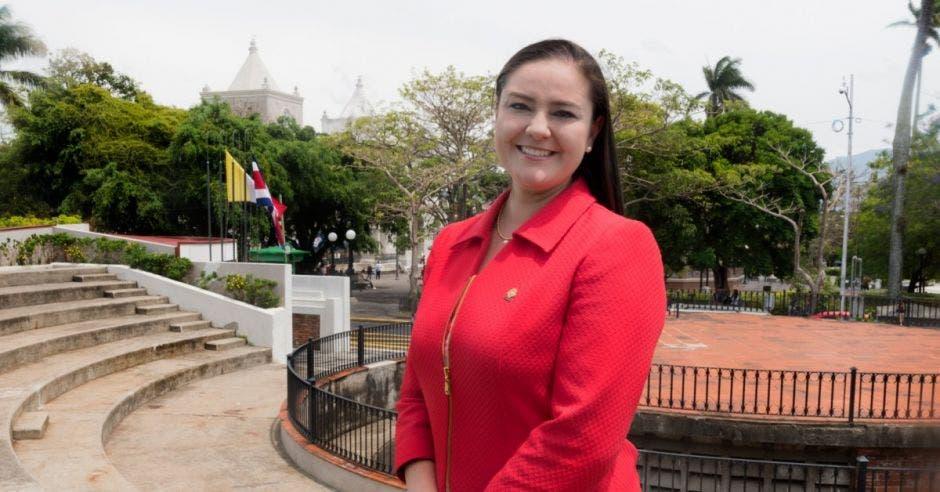Ana Lucía Delgado, diputada del PLN