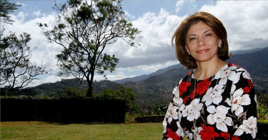 Laura Chinchilla, expresidenta