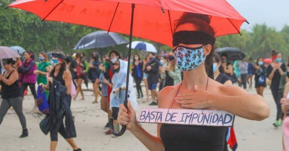 Marchas contra femicidios