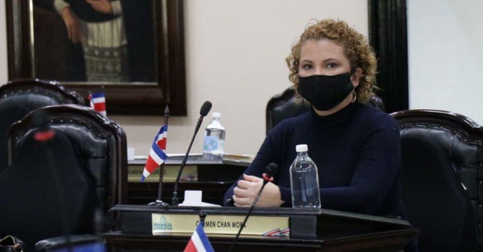Carmen Chan, jefa de Nueva República