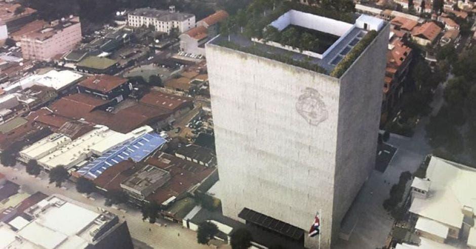 Nuevo edificio del Plenario