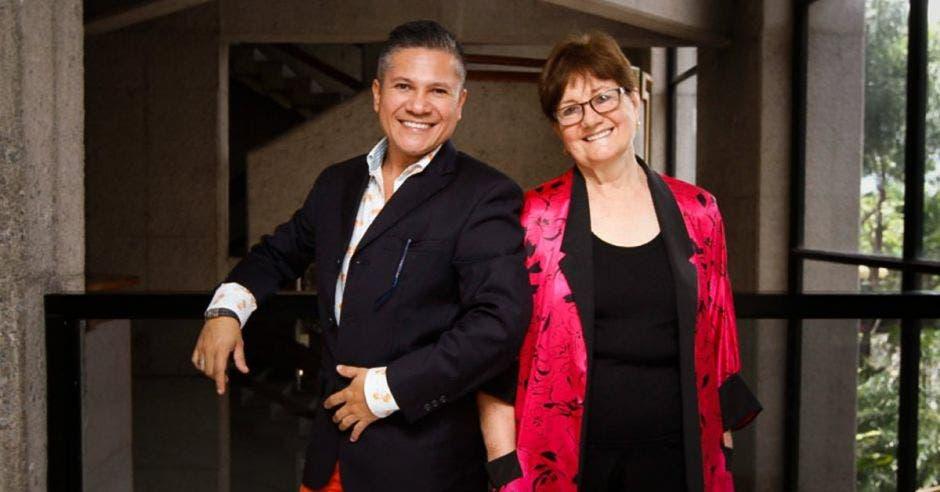 Carmen Juncos Biasutto y Ricardo Sossa Ortiz, creadores de Candilejas