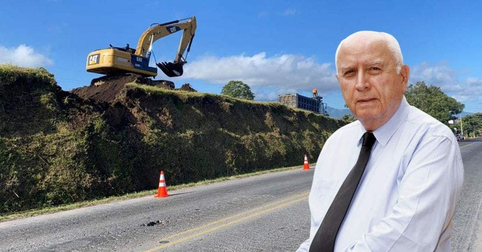 Foto de Rodolfo Méndez, ministro de Obras Públicas y Transportes