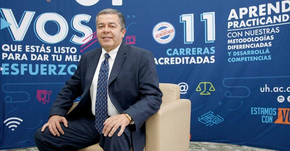 Marco Urbina, Director General de la Universidad Hispanoamericana