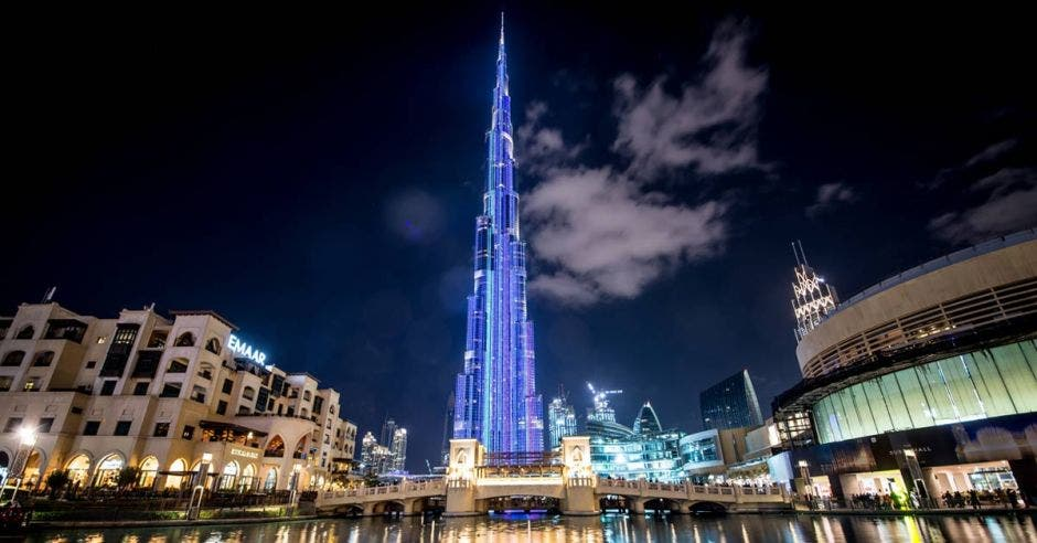 Vemos el Burj Khalifa