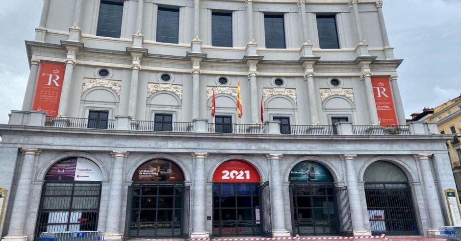 Teatro Real del Madrid.