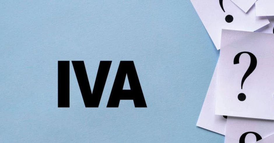 IVA y signos de pregunta