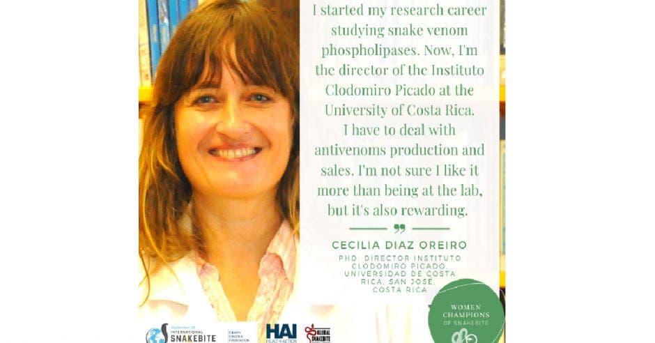 Cecilia Díaz, actual directora del Instituto.