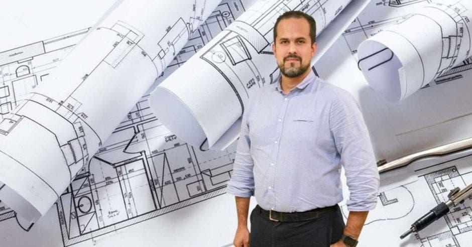 Esteban Acón, presidente de la Cámara de la Construcción