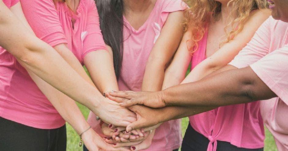 mujeres rosa