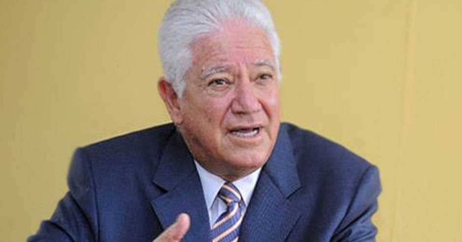 José Miguel Corrales, organizador del movimiento. Archivo/La República.