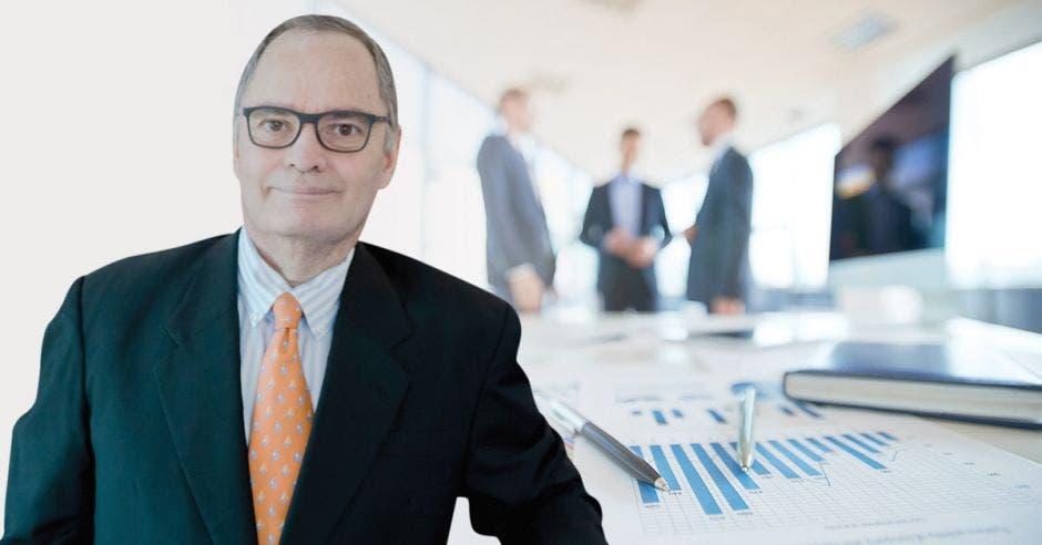 Jimmy Hernández, socio y director financiero de Ficoa