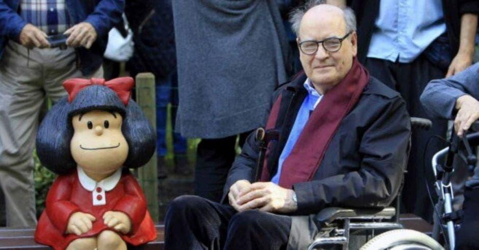 "Joaquín Salvador Lavado, dejó a ""Mafalda"" huérfana"