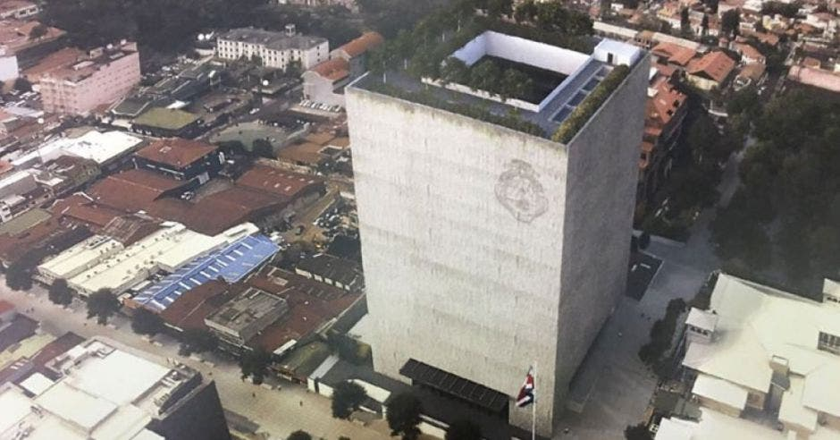 El nuevo edificio del Congreso está listo. Archivo/La República.