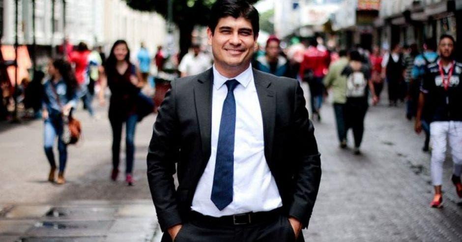 Carlos Alvarado, presidente de la República. Archivo/La República.