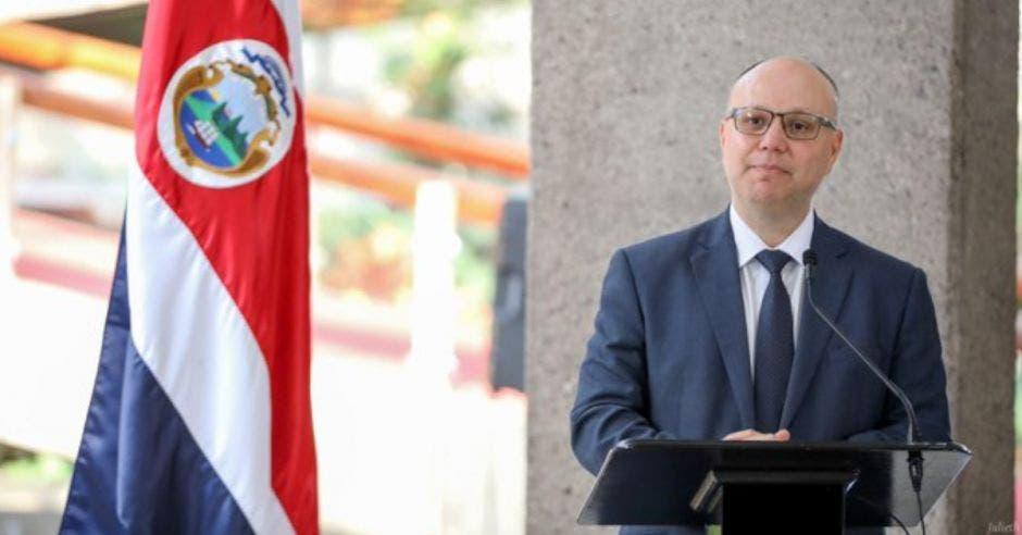 Michael Soto, ministro de Seguridad.