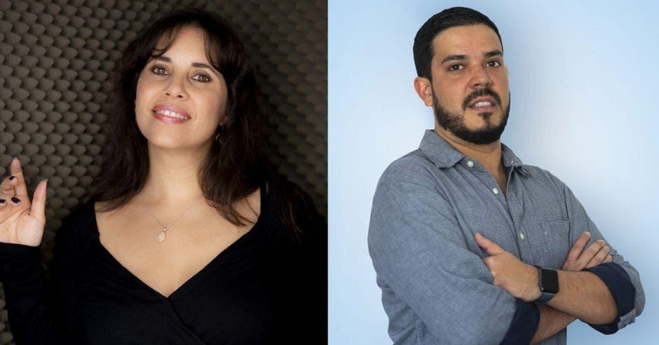 Marcela Loría y Mauricio Salazar