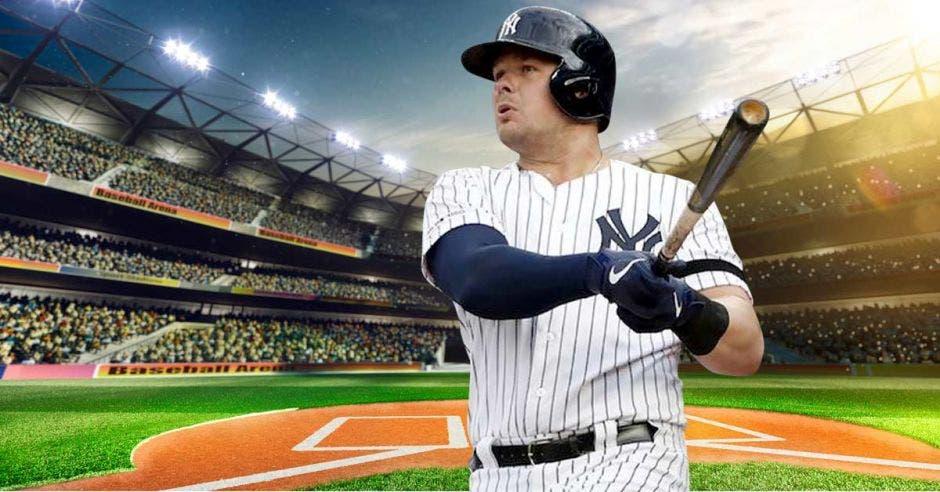 Luke Voit, de los Yankees, líder jonronero