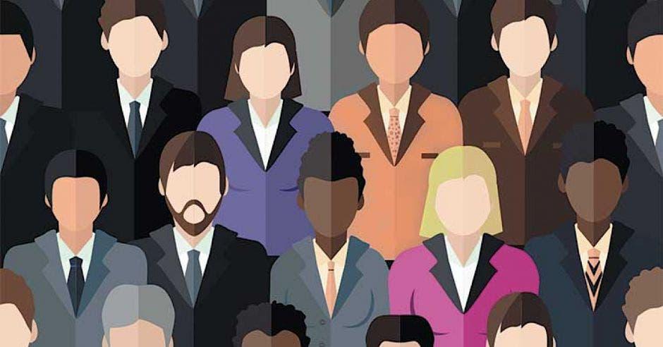 Personas en público