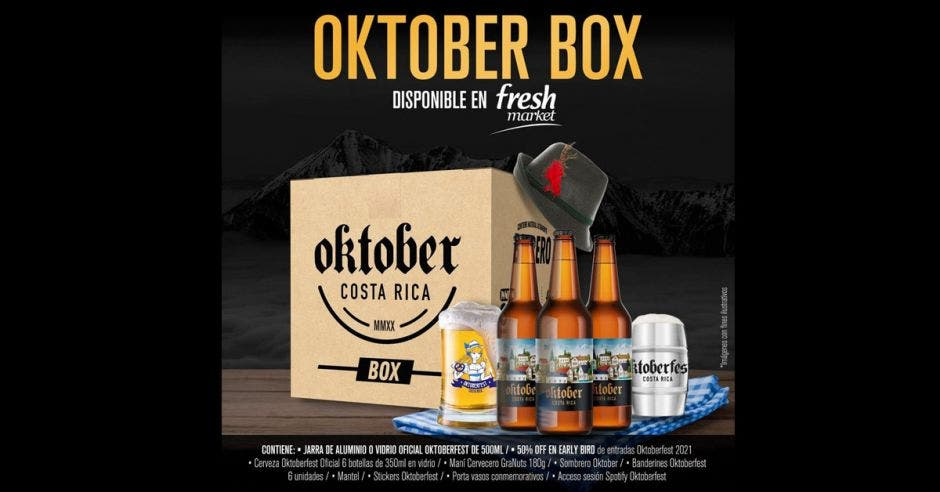 Caja con cervezas