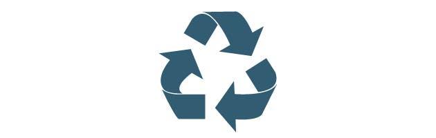 Símbolo de economía circular