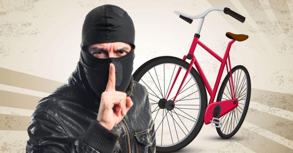robo bicicletas