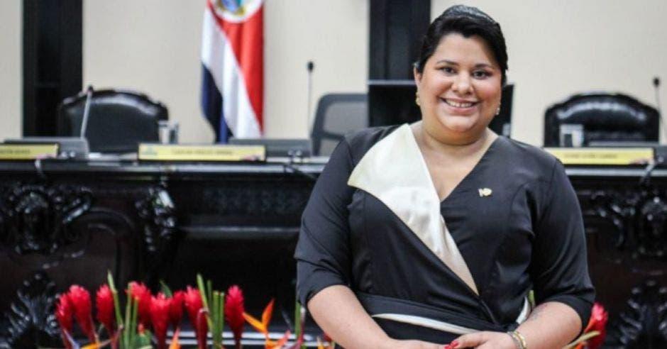 Paola Vega, diputada. Archivo/La República.