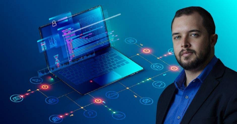 Christian Sánchez, director ejecutivo de la Cámara de Tecnologías de la Información y Comunicación (Camtic).