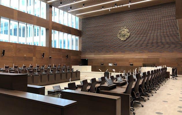 El plenario tendrá capacidad para más de 130 diputados en caso de que el país decida genera más legisladores. Archivo/La Republica