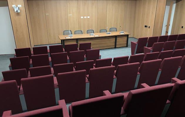El nuevo Congreso tiene varios salones para conferencias. cortesía/La República