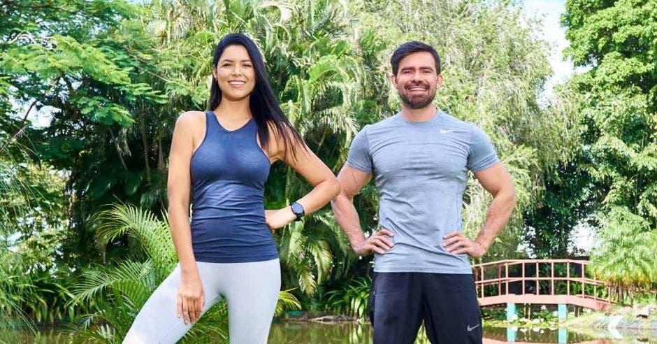 Johanna Ortiz y Roberto Loco