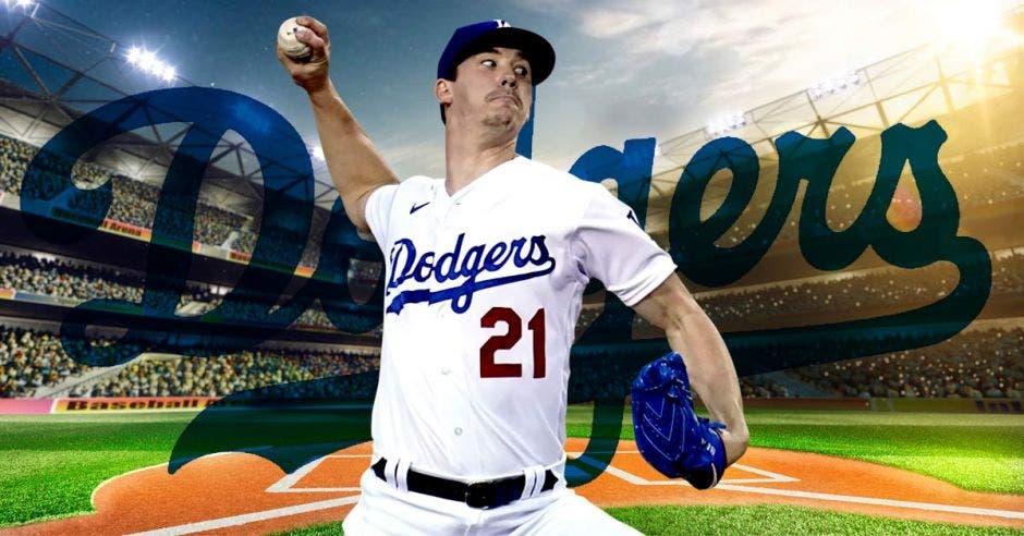 Walker Buehler, el as de la rotación abre por los Dodgers